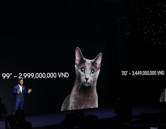 Samsung tuyệt tác công nghệ 2021 giới thiệu tivi 3,5 tỷ đồng và hàng loạt sản phẩm ứng dụng AI ảnh 1