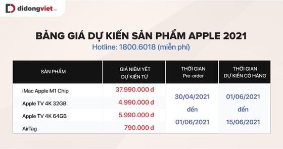 iPad Pro 2021, iMac, Apple TV và AirTag sẽ có giá bao nhiêu khi về Việt Nam? ảnh 4