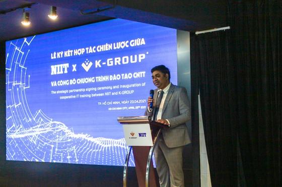 K-Group ký kết hợp tác với NIIT đào tạo nguồn nhân sự công nghệ thông tin chất lượng cao ảnh 2