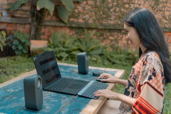 Laptop LG gram 2021 và chuột Logitech Pebble: Hơn cả bộ đôi phong cách! ảnh 4