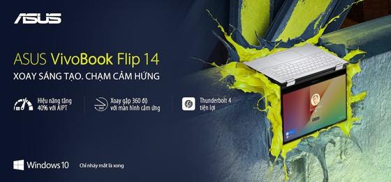 VivoBook Flip 14 TP470, laptop xoay gập dành cho giới trẻ ảnh 3
