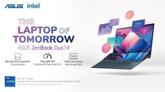 ZenBook Duo 14 UX482 laptop có thiết kế 2 màn hình  ảnh 5