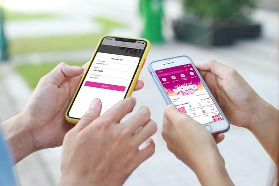 Người dùng có thể chuyển tiền bằng Ví MoMo ngay trên ứng dụng chat Viber ảnh 1