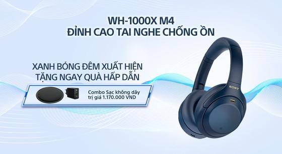 Sony giới thiệu tai nghe chống ồn WH-1000XM4 phiên bản Xanh Bóng Đêm  ảnh 4