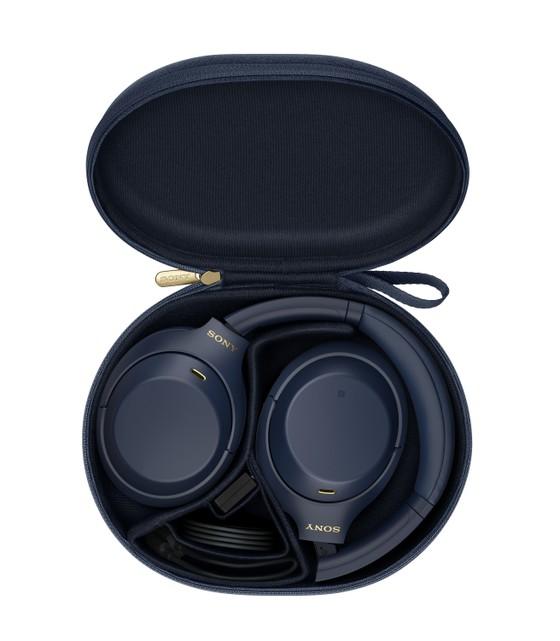 Sony giới thiệu tai nghe chống ồn WH-1000XM4 phiên bản Xanh Bóng Đêm  ảnh 1