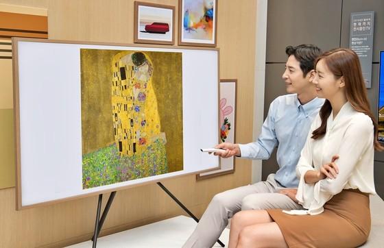 Thưởng thức kiệt tác của danh họa người Áo trên TV Samsung The Frame   ảnh 1