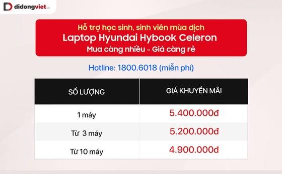 Laptop Hyundai Hybook Celeron chính hãng giá tầm 5 triệu đồng ảnh 3