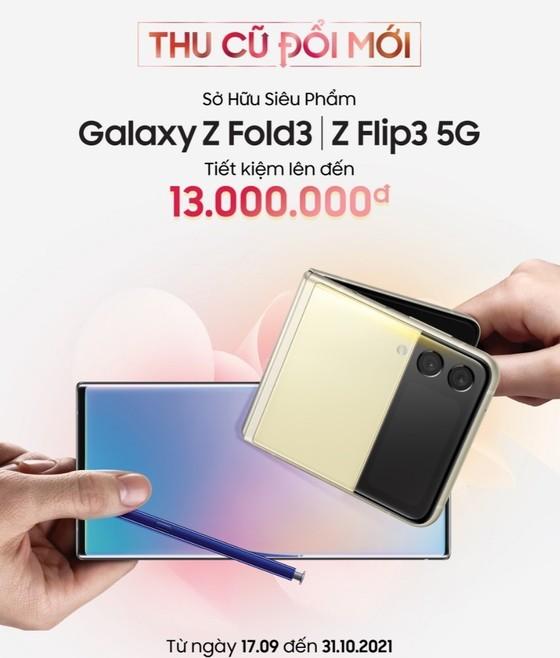 Samsung Galaxy Z Fold3 và Z Flip3 5G chính thức được giao hàng tại Việt Nam   ảnh 1