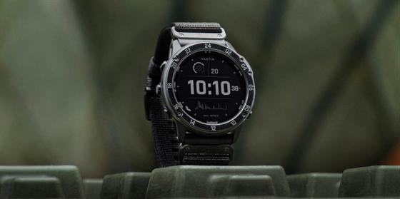Garmin tactix Delta Solar - đồng hồ GPS có thiết kế tiêu chuẩn quân đội ảnh 1