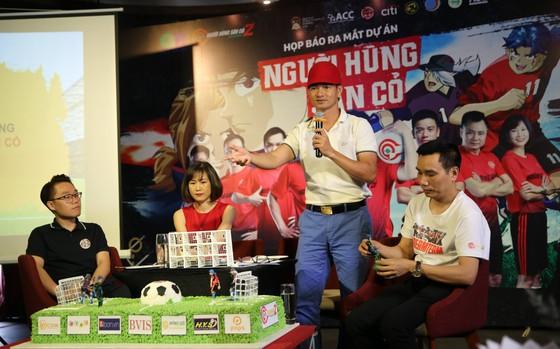 Nghệ sĩ Xuân Bắc- Tự Long đồng hành với dự án ươm mầm tài năng bóng đá trẻ ảnh 2