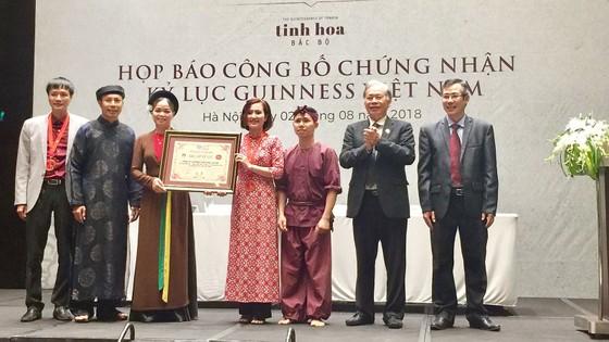 """""""Tinh hoa Bắc bộ"""" lập cú đúp kỷ lục Guinness Việt Nam ảnh 2"""