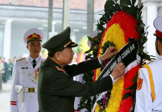 Lễ viếng nguyên Chủ tịch nước Lê Đức Anh ảnh 24