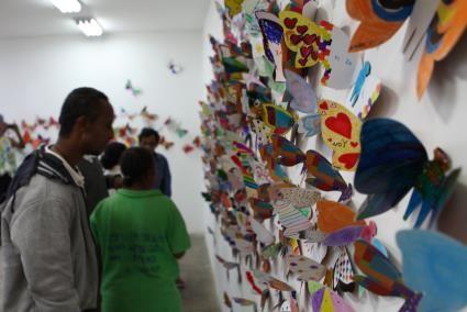 Tác phẩm mỹ thuật khổng lồ với 1300 cánh bướm sẽ xuất hiện ở Hà Nội ảnh 1