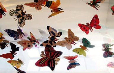 Tác phẩm mỹ thuật khổng lồ với 1300 cánh bướm sẽ xuất hiện ở Hà Nội ảnh 2