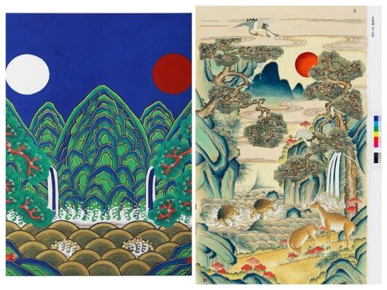 Khám phá sắc màu trong dòng tranh dân gian Hàn Quốc ảnh 2