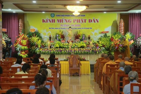 Trang nghiêm chính lễ Phật đản đặc biệt tại chùa Quán Sứ ảnh 1