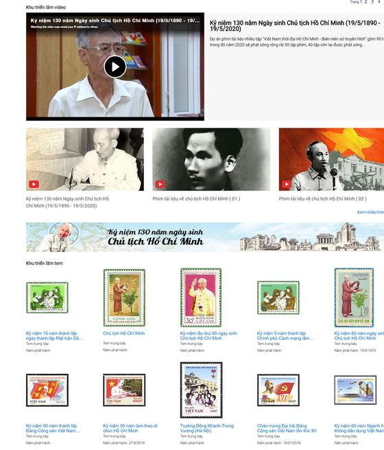 Trưng bày trực tuyến hơn 700 xuất bản phẩm, tư liệu về Chủ tịch Hồ Chí Minh ảnh 2
