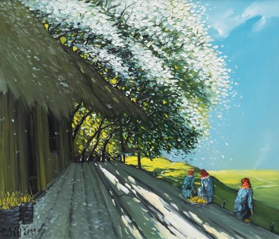 Triển lãm tác phẩm của các họa sĩ đương đại hàng đầu trên thị trường mỹ thuật ảnh 4