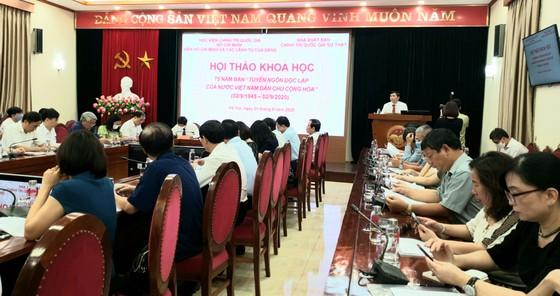 Tuyên ngôn độc lập của nước Việt Nam Dân chủ Cộng hòa - Văn kiện lịch sử mang tầm vóc thời đại ảnh 1