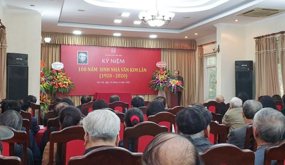 Kỷ niệm 100 năm Ngày sinh nhà văn Kim Lân ảnh 1