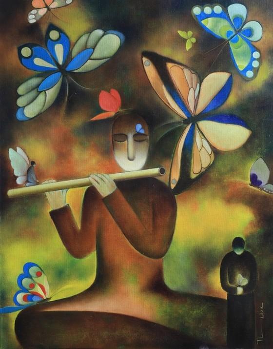 54 tác phẩm hội họa trong triển lãm cá nhân đầu tiên của Chủ tịch Hội Nhà văn ảnh 2