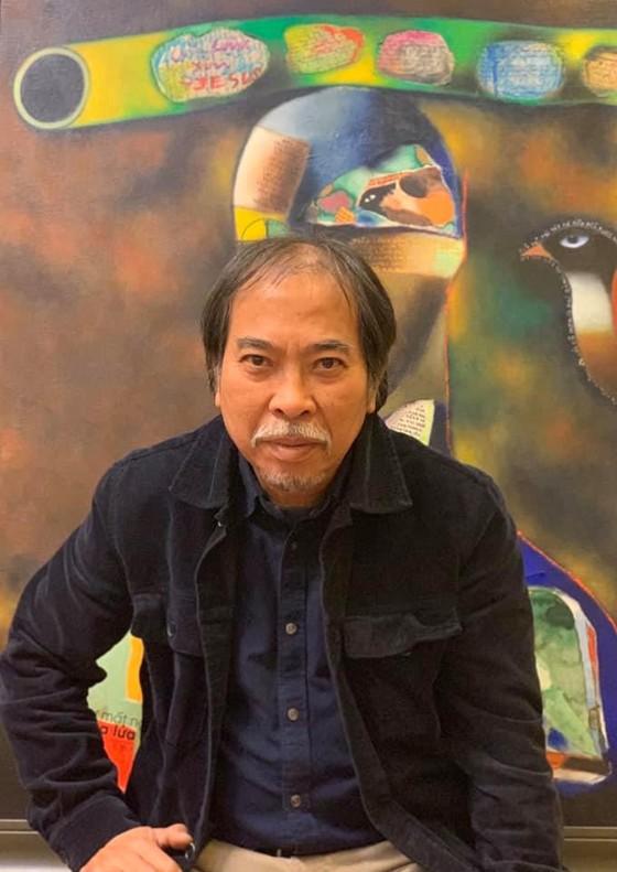 54 tác phẩm hội họa trong triển lãm cá nhân đầu tiên của Chủ tịch Hội Nhà văn ảnh 1