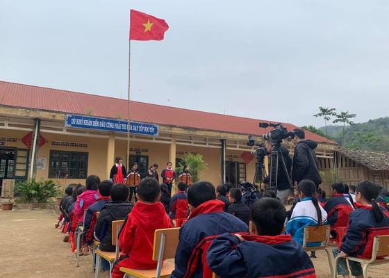 'Tổ quốc trong tim' - xúc động trong lễ chào cờ nơi địa đầu Tổ quốc ảnh 1