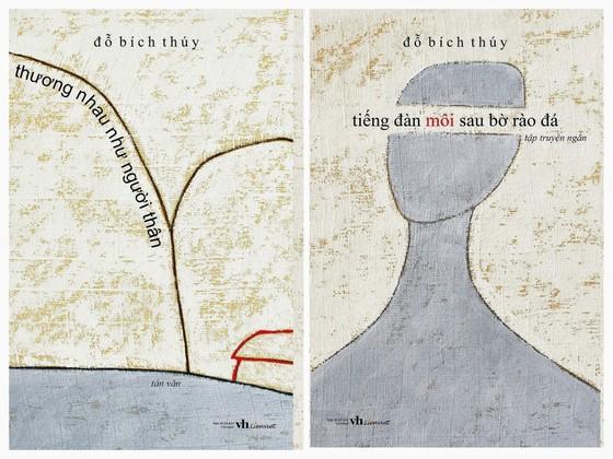 Nhà văn Đỗ Bích Thúy và họa sĩ Lê Thiết Cương làm sách ủng hộ trẻ em miền núi ảnh 3