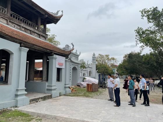 Bộ VH-TT-DL thanh tra sai phạm tại di tích quốc gia chùa Đậu, Hà Nội ảnh 1