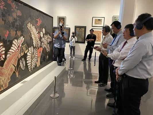 Khám phá kiệt tác mỹ thuật Việt qua nền tảng số ảnh 1