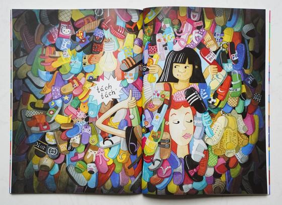 'Chiếc dép bị thất lạc'- cuốn sách nhỏ bé dành cho thiếu nhi ảnh 2