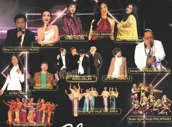 Nhiều ca sĩ nổi tiếng cùng hội ngộ trong đêm nhạc 'Chia sẻ để gần nhau hơn' ảnh 1