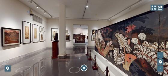 Khám phá tinh hoa mỹ thuật Việt với tour 3D  ảnh 1