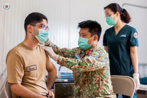 Bệnh viện dã chiến ở Nam Sudan quyên góp ủng hộ bệnh nhân Covid-19 ở TPHCM ảnh 2