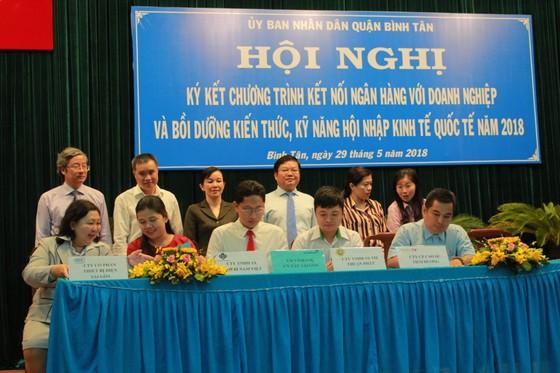 Quận Bình Tân kết nối cho hàng trăm doanh nghiệp vay vốn ưu đãi ảnh 1