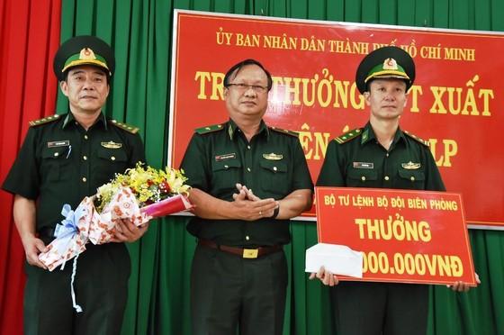 Lãnh đạo TPHCM khen thưởng các đơn vị tham gia chuyên án ma túy 218LP   ảnh 3