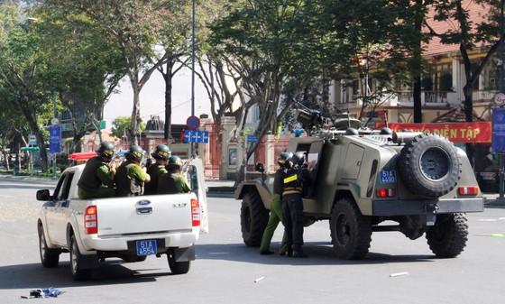 Hơn 4.000 người tham gia diễn tập chống khủng bố ở TPHCM ảnh 7