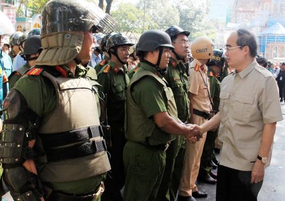 Hơn 4.000 người tham gia diễn tập chống khủng bố ở TPHCM ảnh 1