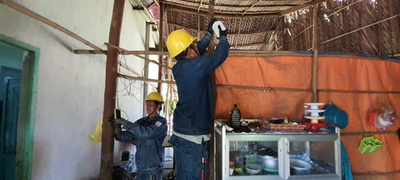 Tuổi trẻ ngành điện TPHCM thực hiện nhiều hoạt động tình nguyện tại đảo Thổ Chu ảnh 2