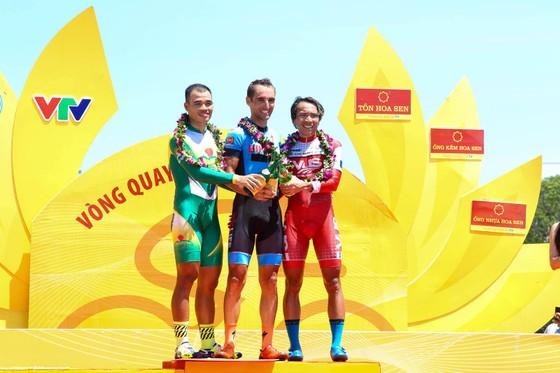 Giải xe đạp quốc tế VTV Cup 2017: Loic ra oai lấy áo vàng