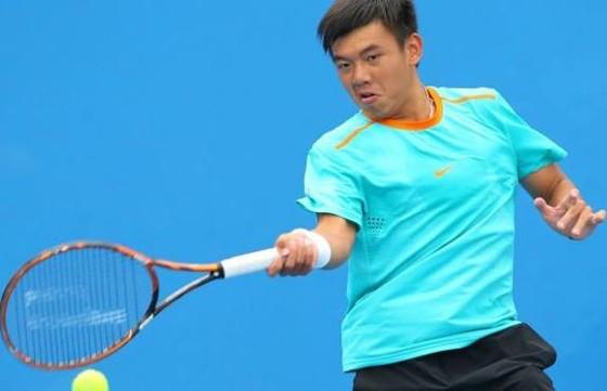 Tay vợt Lý Hoàng Nam có trận thắng đầu năm
