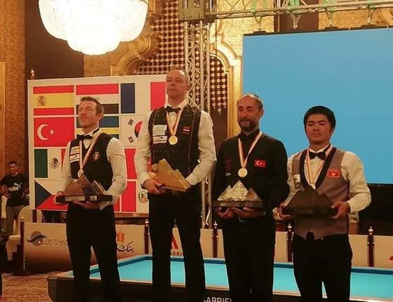 Nguyễn Quốc Nguyện giành huy chương đồng giải Billiard vô địch thế giới ảnh 2