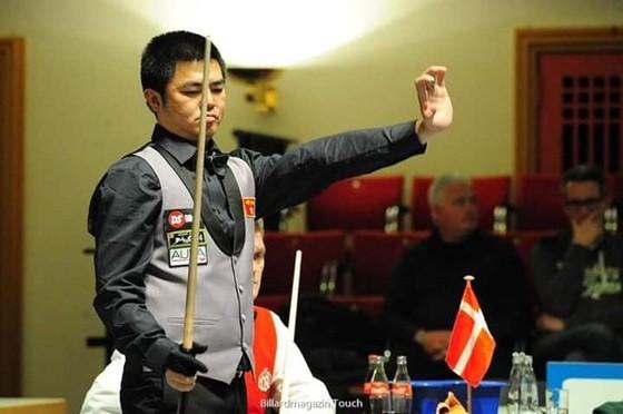 Việt Nam thua đáng tiếc trước Hà Lan ở tứ kết giải Billiards đồng đội thế giới ảnh 1