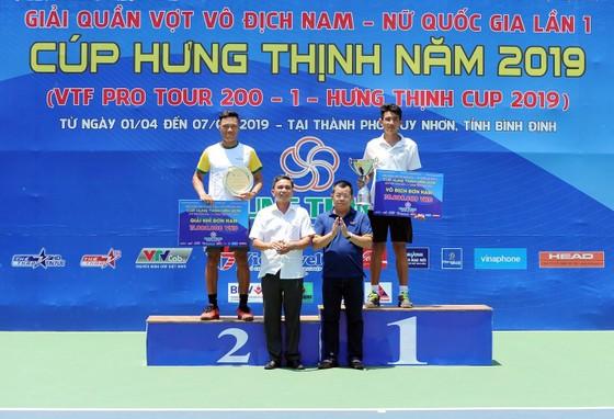 Nguyễn Văn Phương lần đầu vô địch giải quần vợt VTF Pro Tour ảnh 1