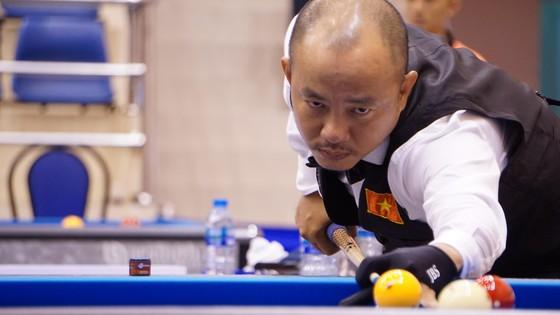 Đỗ Nguyễn Trung Hậu có một chiến thắng thót tim.
