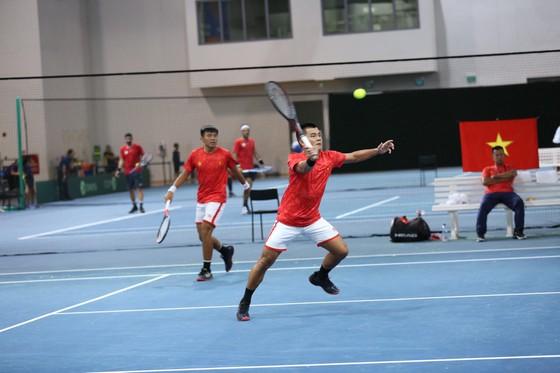 Lý Hoàng Nam, Trịnh Linh Giang giúp đội tuyển quần vợt Việt Nam thăng hạng Davis Cup ảnh 3