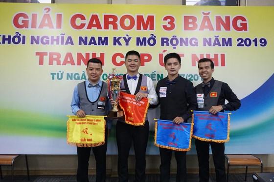 Cơ thủ Nguyễn Quốc Nguyện đăng quang giải Billiards Carom 3 băng Nam Kỳ Khởi Nghĩa ảnh 2