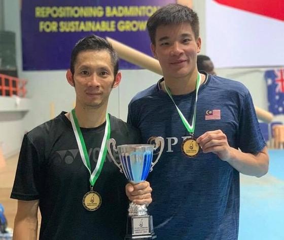 Đánh bại hạt giống số 1, Nguyễn Tiến Minh vô địch giải cầu lông Challenge Nigeria ảnh 1