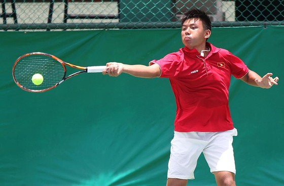 Lý Hoàng Nam chơi không thành công ở giải Challenger Nhật Bản.