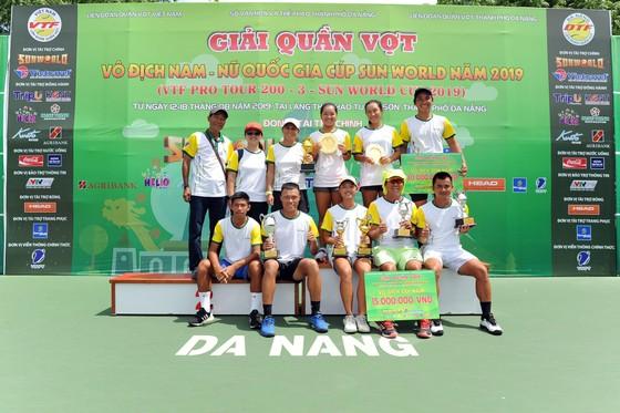 Giải quần vợt VTF Pro Tour 200: Phạm Minh Tuấn tiếp tục làm cú đúp cho TPHCM ảnh 1